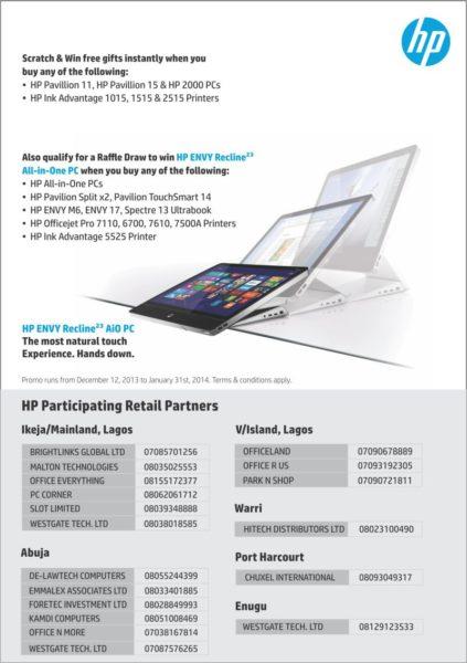 HP Win Xmas Promo - BellaNaija - December 2013 (1)