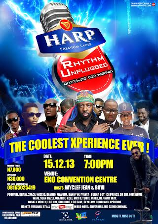Harp Rhythm Unplugged Event in Lagos - BellaNaija - December 2013