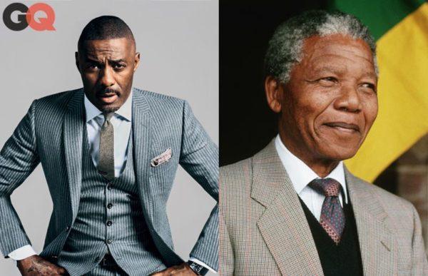 Idris Elba & Nelson Mandela - December 2013 - BellaNaija