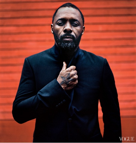 Idris Elba - Vogue America - December 2013 - BellaNaija