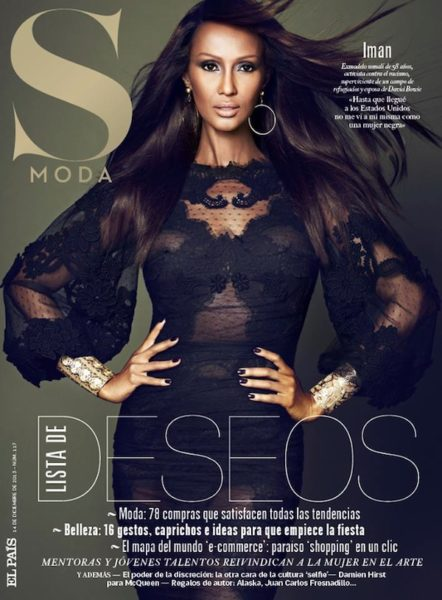 Iman for Revista S Moda Magazine - BellaNaija - December 2013