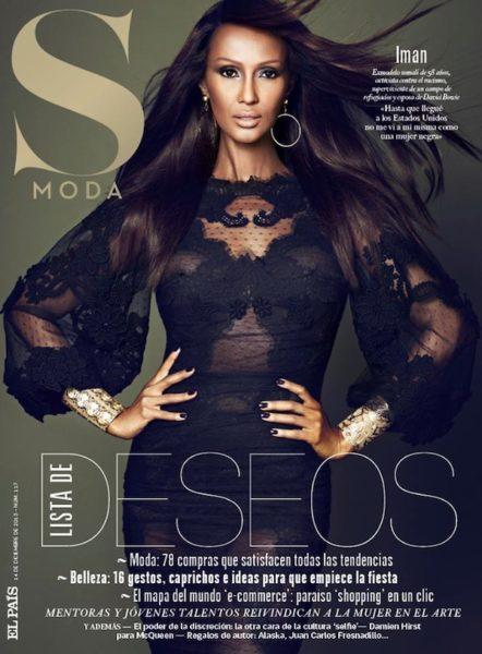 Iman for Revista S Moda Magazine - BellaNaija - December 2013