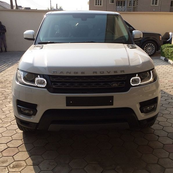 Iyanya gets a Range Rover - December 2013 - BellaNaija 01