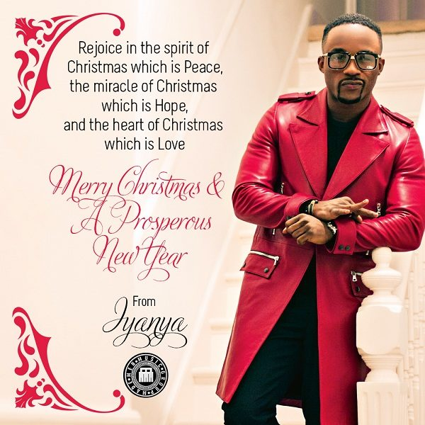 Iyanya greetings - December 2013 - BellaNaija