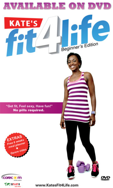 Kate Henshaw's - Kate Fit 4 Life Workout DVD - December 2013 - BellaNaija