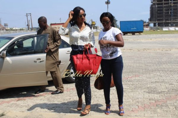 Majid Michel, Yvonne Okoro & Sandra Ankobiah arrive in Lagos for the 2014 AMVCA- BellaNaija- 030