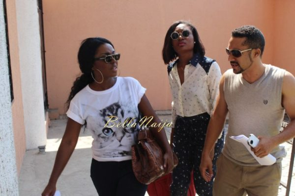 Majid Michel, Yvonne Okoro & Sandra Ankobiah arrive in Lagos for the 2014 AMVCA- BellaNaija- 035