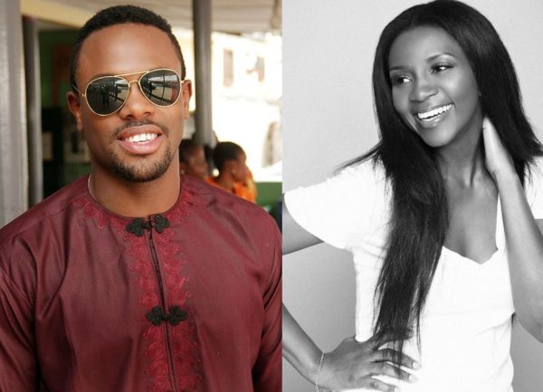 Melvin Oduah & Genevieve Nnaji - December 2013 - BellaNaija