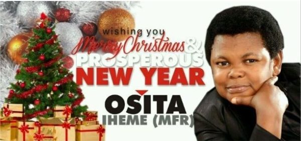 Merry Christmas from Osita Iheme - December 2013 - BellaNaija