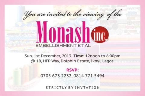 Monash Embellishment Et Al - November 2013 - BellaNaija