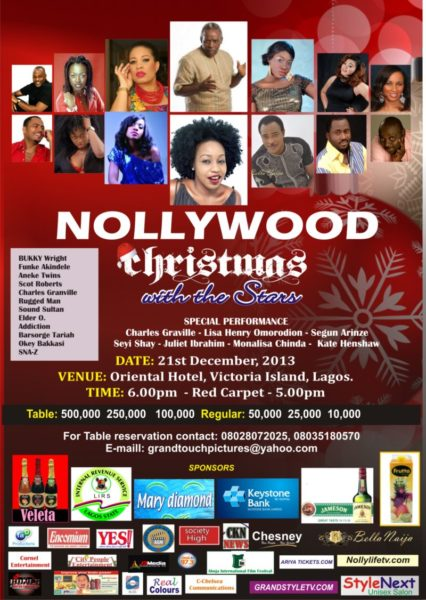 Nollywood Christmas with the Stars - BellaNaija - December 2013