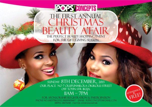 Pops Concepts Christmas Beauty A'Fair - BellaNaija - December 2013