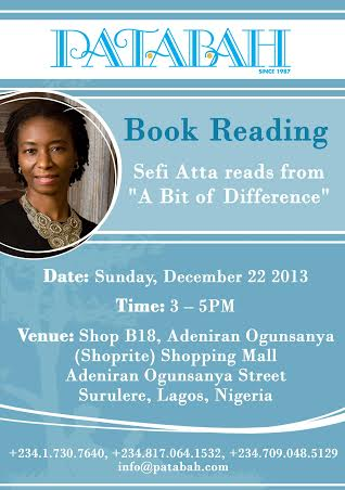Sefi Attah A Bit of Difference - BellaNaija - December 2013