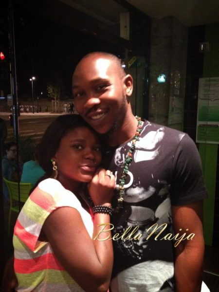 Seun Kuti Yetunde daughter - December 2013 - BellaNaija (3)
