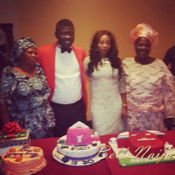 Seyi Law Ebere Cham Surprise Birthday - December 2013 - BellaNaija (2)
