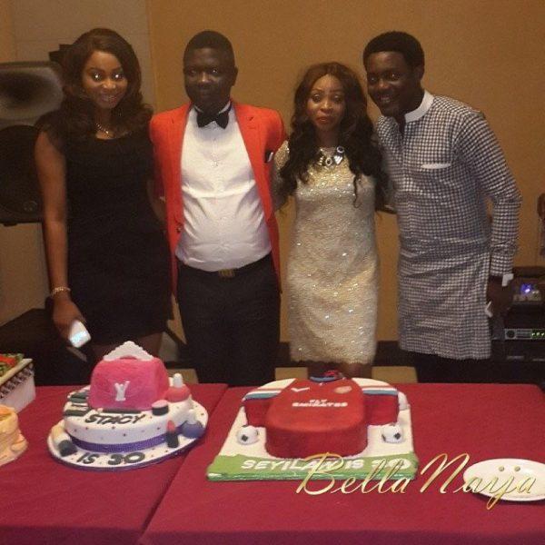Seyi Law Ebere Cham Surprise Birthday - December 2013 - BellaNaija (7)