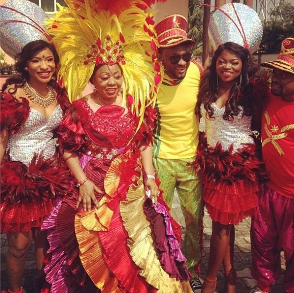 Stars at Calabar Carnival - December 2013 - BellaNaija 02