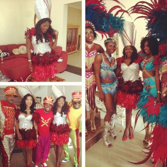 Stars at Calabar Carnival - December 2013 - BellaNaija 03