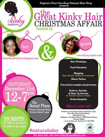 The Great Kinky Hair Affair event - BellaNaija - December 2013001