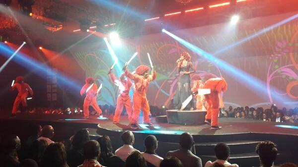 "Seyi Shay performing ""Irawo"""