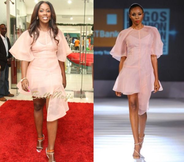 Tiwa Savage in Bridget Awosika - December 2013 - BellaNaija 01