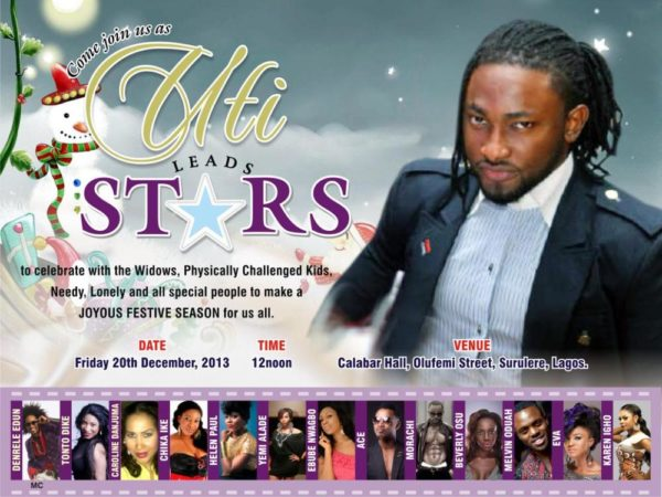 Uti Leads Stars - December 2013 - BellaNaija