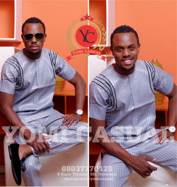 Yomi Casuals' The Redefined Man Lookbook - December 2013 - BellaNaija - 022