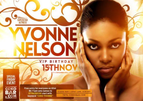 Yvonne Nelson VIP Birthday - November 2013 - BellaNaija