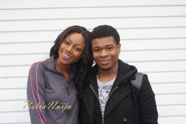 Yvonne Nelson & Philip Eric