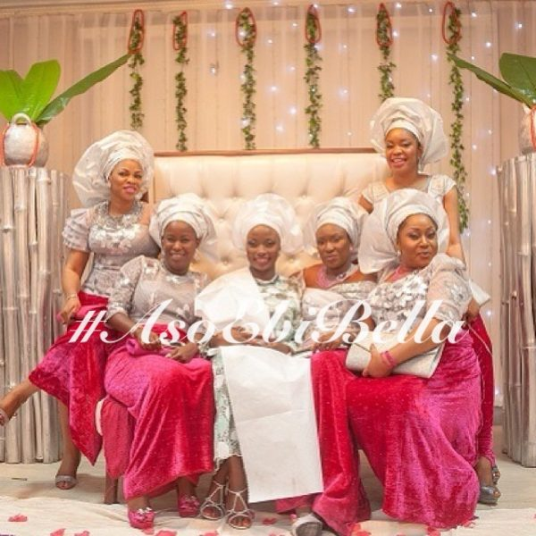 aso ebi, asoebi, bellanaija weddings, nigerian wedding, naija wedding, asoebi inspiration,@bunniebees_fabrics 2