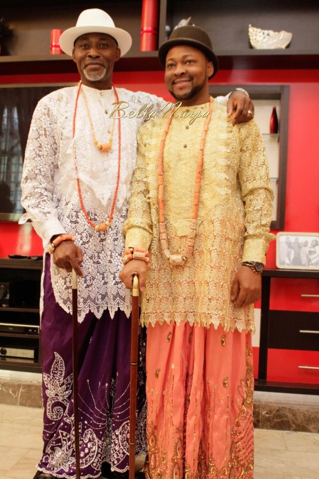 Proud Dad Richard Mofe-Damijo shares his Joy as Eniola Abiodun weds ...