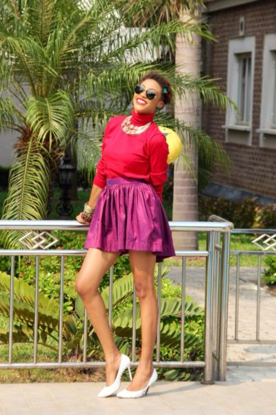 Abby Fontaine FON Skirts Campaign  - BellaNaija - January2014003