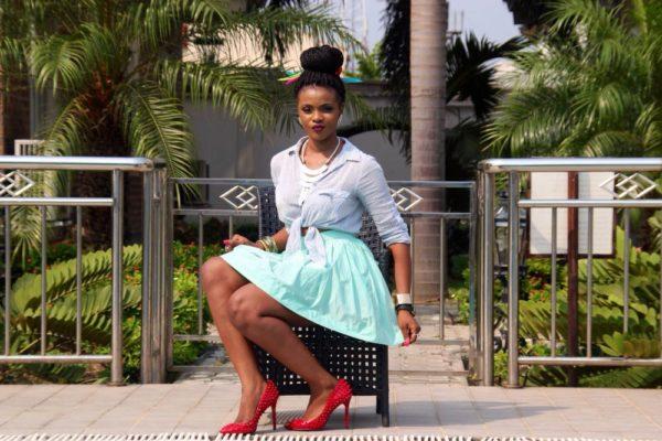 Abby Fontaine FON Skirts Campaign  - BellaNaija - January2014006