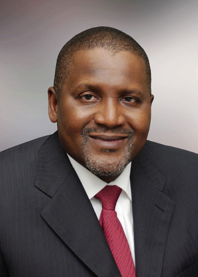 Aliko Dangote - Bloomberg Billionaires  Index - January 2014 - BellaNaija