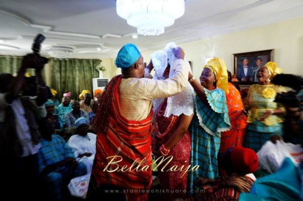 Annette & Gerald BellaNaija Wedding - January 2014, Benin Bride, Itsekiri, Yoruba Wedding41a