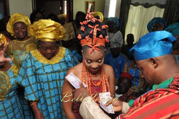 Annette & Gerald BellaNaija Wedding - January 2014, Benin Bride, Itsekiri, Yoruba Wedding43