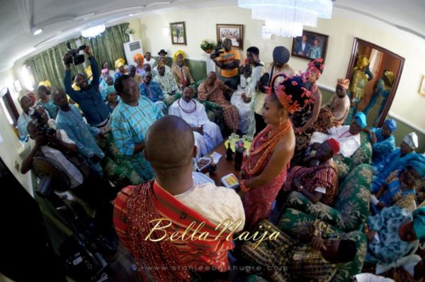 Annette & Gerald BellaNaija Wedding - January 2014, Benin Bride, Itsekiri, Yoruba Wedding45