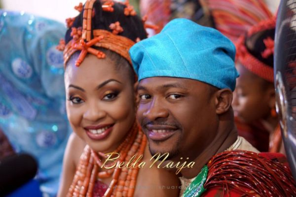 Annette & Gerald BellaNaija Wedding - January 2014, Benin Bride, Itsekiri, Yoruba Wedding45c