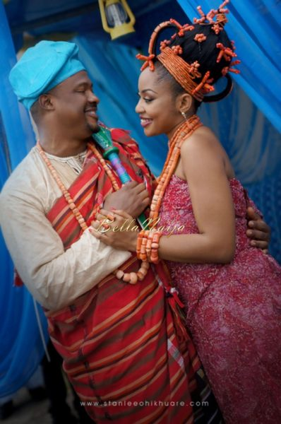 Annette & Gerald BellaNaija Wedding - January 2014, Benin Bride, Itsekiri, Yoruba Wedding46a