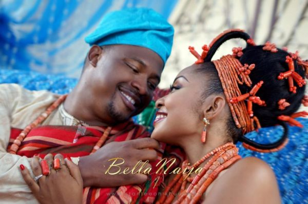 Annette & Gerald BellaNaija Wedding - January 2014, Benin Bride, Itsekiri, Yoruba Wedding47