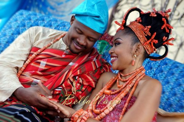 Annette & Gerald BellaNaija Wedding - January 2014, Benin Bride, Itsekiri, Yoruba Wedding48