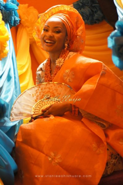 Annette & Gerald BellaNaija Wedding - January 2014, Benin Bride, Itsekiri, Yoruba Wedding55