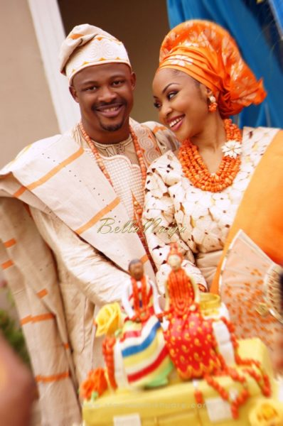 Annette & Gerald BellaNaija Wedding - January 2014, Benin Bride, Itsekiri, Yoruba Wedding61