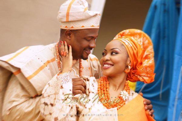 Annette & Gerald BellaNaija Wedding - January 2014, Benin Bride, Itsekiri, Yoruba Wedding62