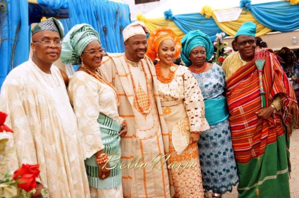 Annette & Gerald BellaNaija Wedding - January 2014, Benin Bride, Itsekiri, Yoruba Wedding70