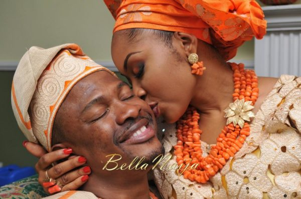 Annette & Gerald BellaNaija Wedding - January 2014, Benin Bride, Itsekiri, Yoruba Wedding74