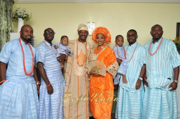 Annette & Gerald BellaNaija Wedding - January 2014, Benin Bride, Itsekiri, Yoruba Wedding77