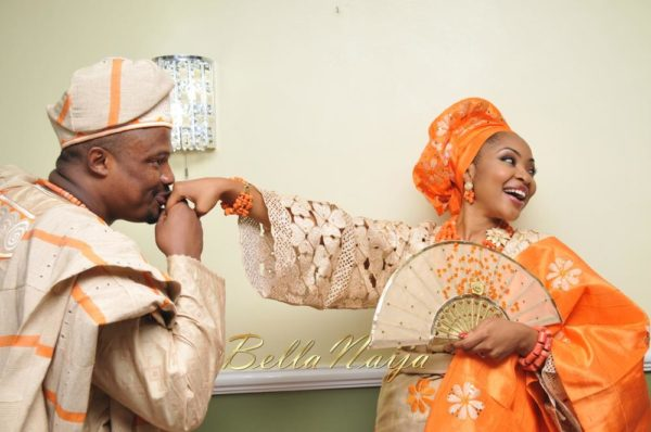 Annette & Gerald BellaNaija Wedding - January 2014, Benin Bride, Itsekiri, Yoruba Wedding79