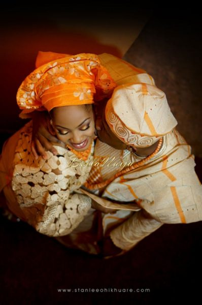 Annette & Gerald BellaNaija Wedding - January 2014, Benin Bride, Itsekiri, Yoruba Wedding84