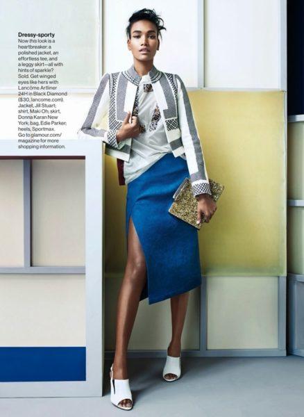 Arlenis Sosa for Glamour Magazine in African Designs - BellaNaija - January 2014006